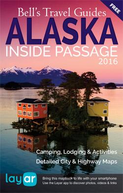 Alaska's Inside Passage Mapbook 2016