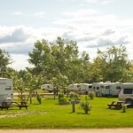 Mile 0 Rv Park Dawson Creek BC Canada