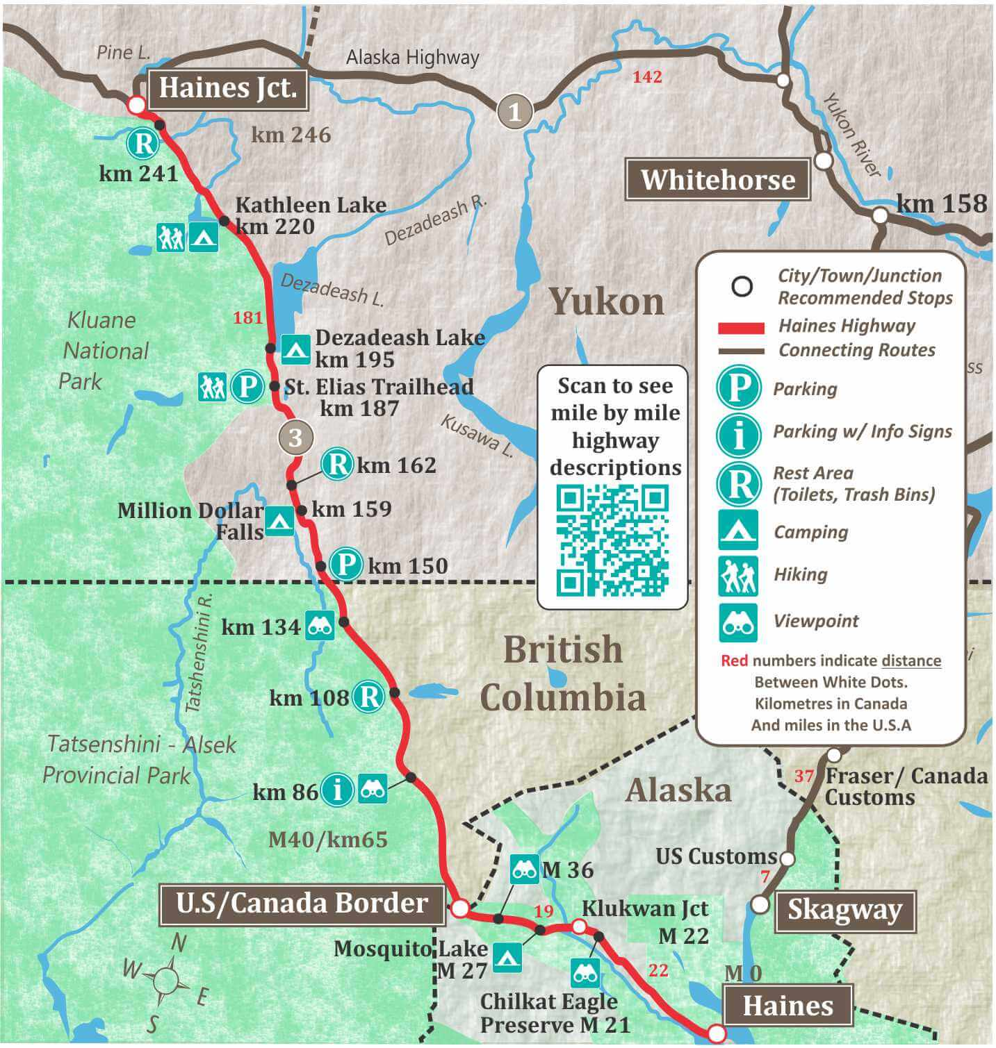 Alaska Maps Of Cities Towns And Highways - Map of alaska and canada