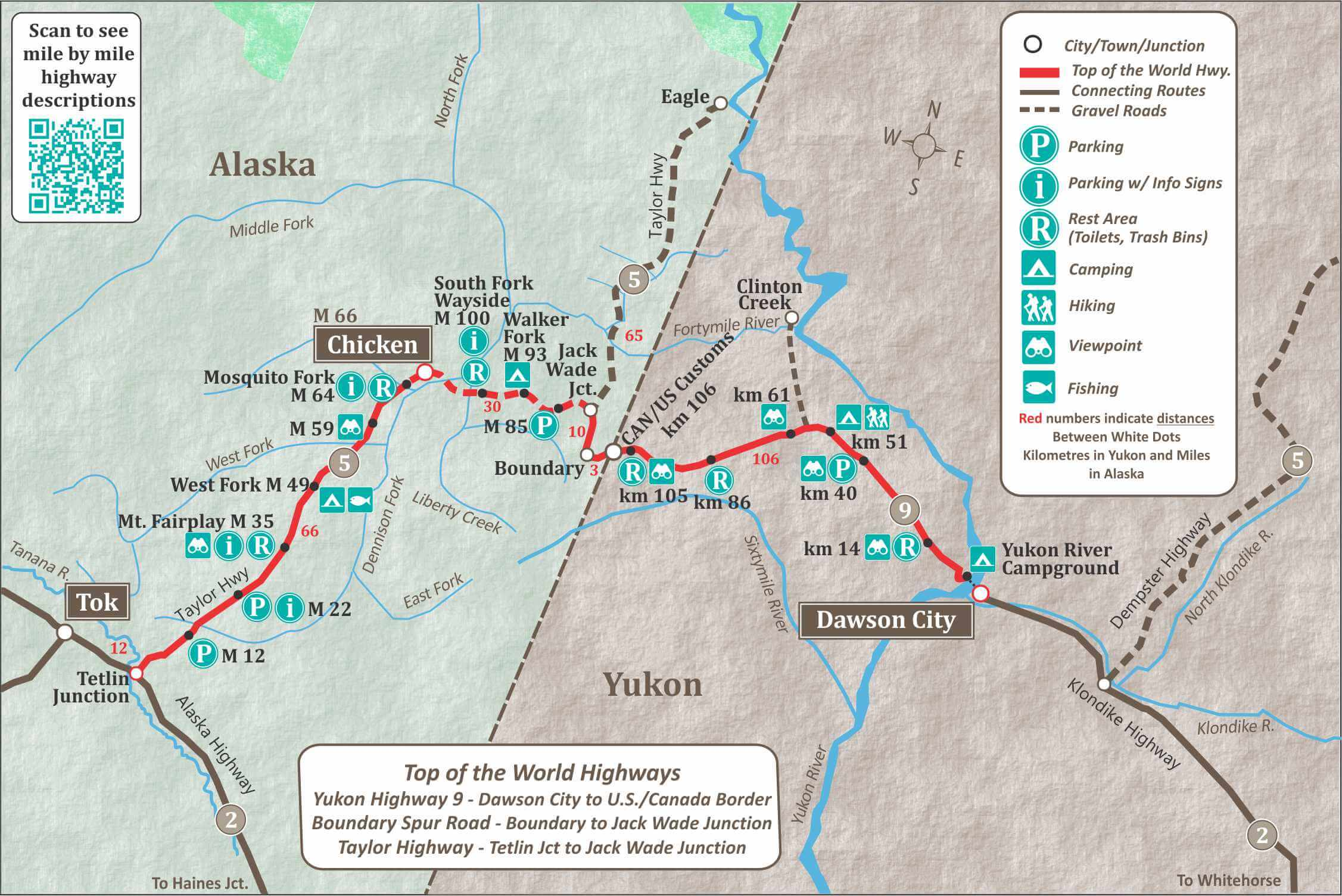 Alaska Maps Of Cities Towns And Highways - Map of us highway rest stops