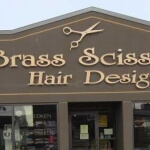 Brass scissors dawson creek