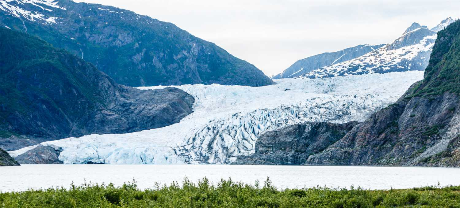 When is the best time to see glaciers in Alaska?