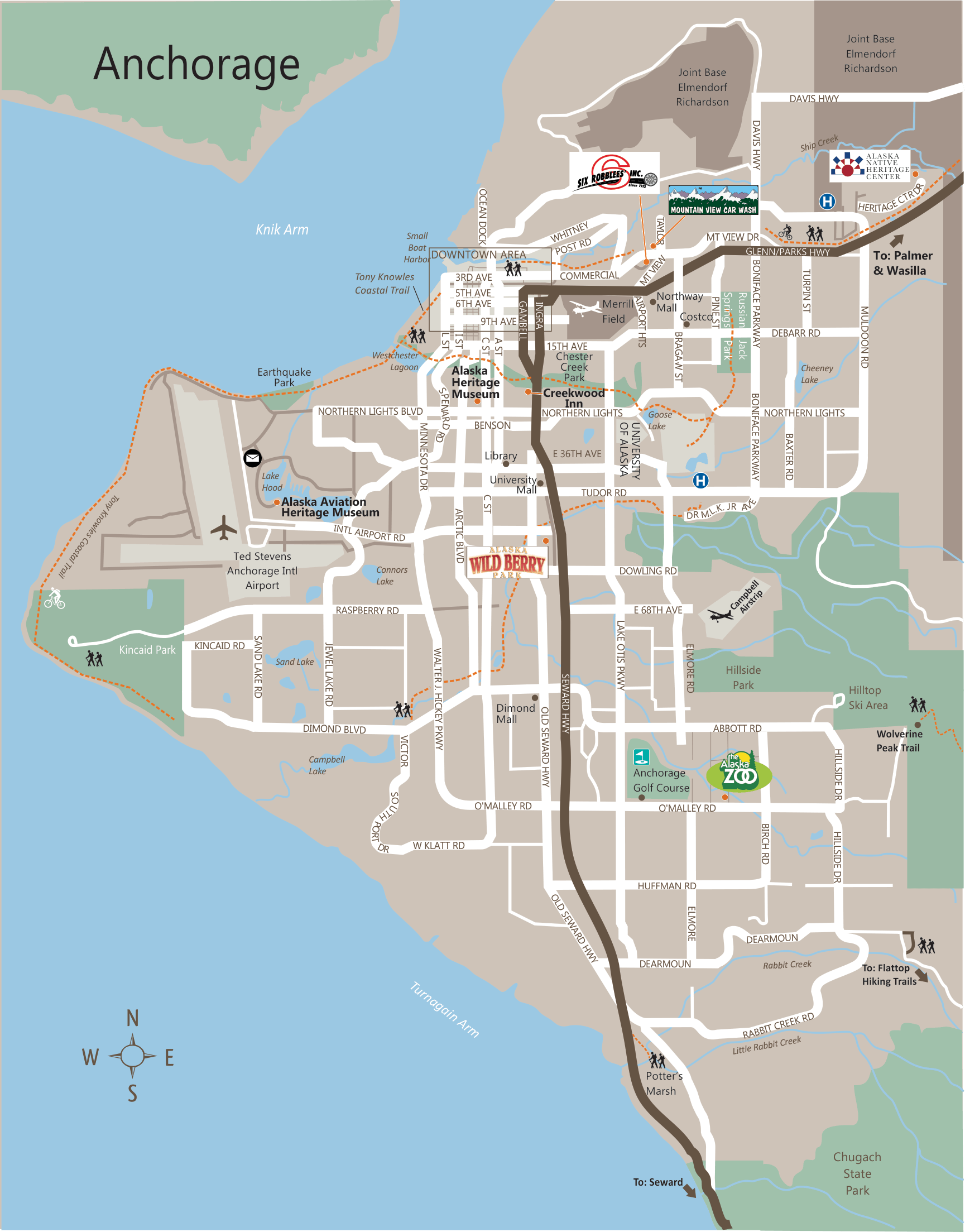 Alaska Maps: The Best City, Town and Highway Maps of Alaska on