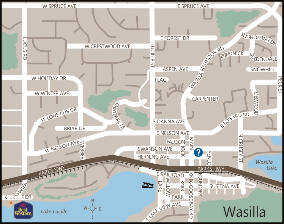 Wasilla Alaska Map Alaska Maps of cities, towns and highways Wasilla Alaska Map