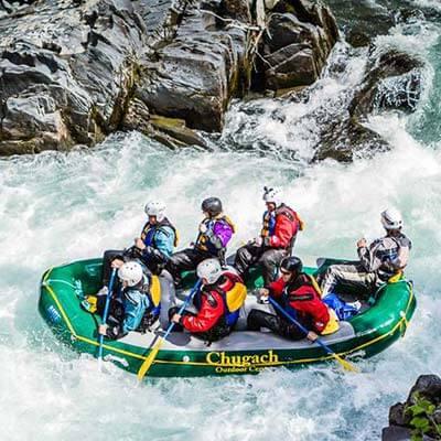 Go Rafting in Alaska