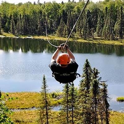Zip Line tours in Alaska