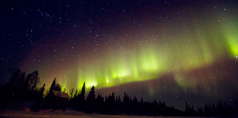 When is the best time to see northern lights in Alaska?