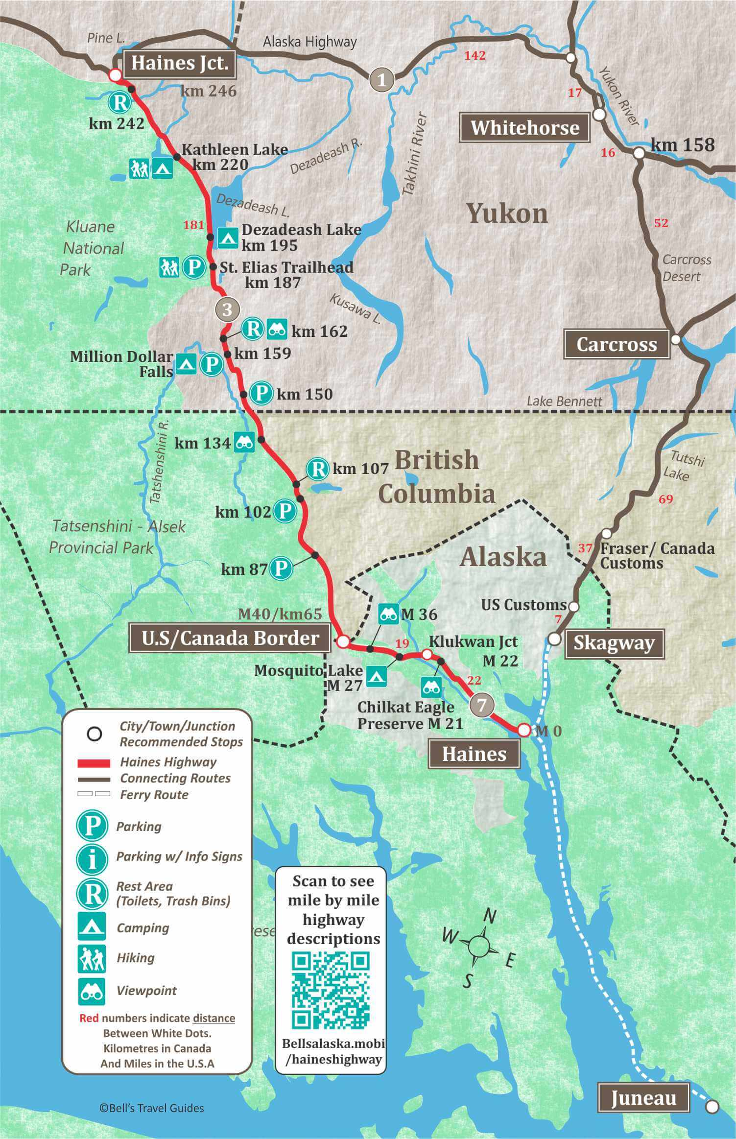 Alaska Maps The Best City Town And Highway Maps - Map-of-us-hwy-50