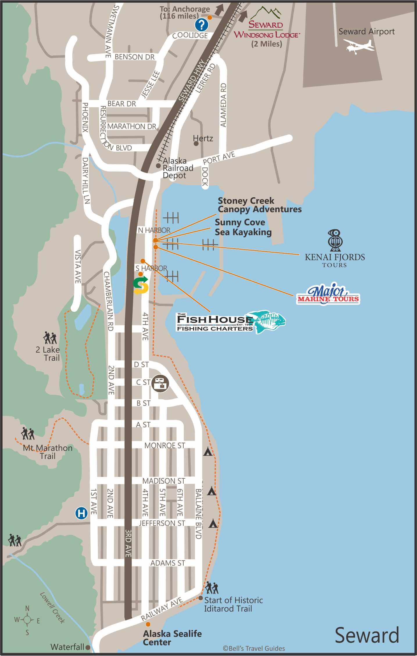 Alaska Maps: The Best City, Town and Highway Maps of Alaska on vancouver peninsula map, windsor peninsula map, ungava peninsula map, selawik national wildlife refuge alaska map, arctic peninsula map, mountains labrador peninsula on a map, all animal refuges in alaska map,