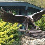 skagway sculpture and flower garden